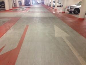 Reiniging parkeergarages