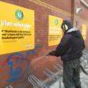 Grafitti verwijderen? Best Building Service!